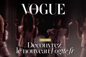 Pour fter le nouveau Vogue.fr, Emmanuelle Alt se la joue comme Wham